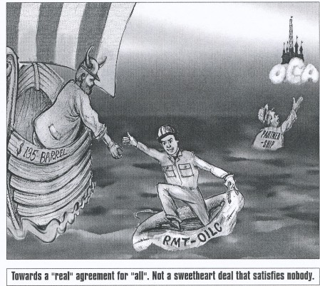 Cartoon from Nok-Er-Nok, the OILC paper, no. 1 (2008)