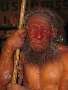They had culture too. Reconstruction of a male Neanderthal (Picture: Stefan Scheer)