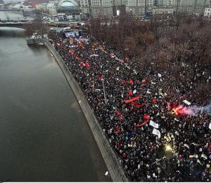 Bolotnaya Square, 10 December 2011. Photo mpeake/Flickr Creative Commons