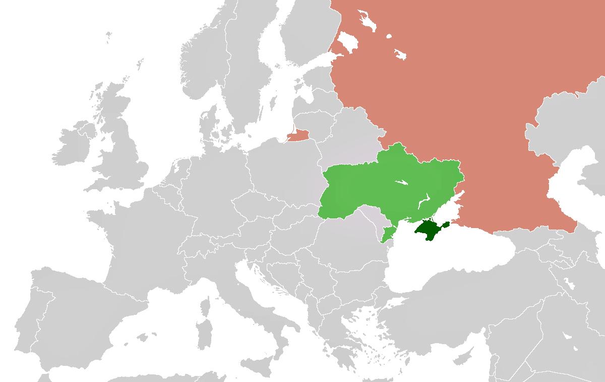 Crimea A Divisive Dangerous Assault People And Nature - Crimea map geopolitics south russia