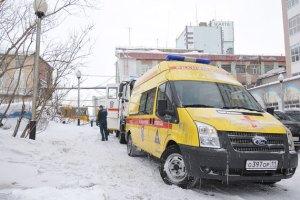 Rescue teams arriving at Severnaya mine on Thursday 25 February. Photo by Vladimir Yurlov/ TASS