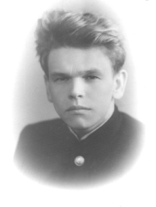 Revolt Pimenov in his student days. Photo from the Chronicle of Current Events archive