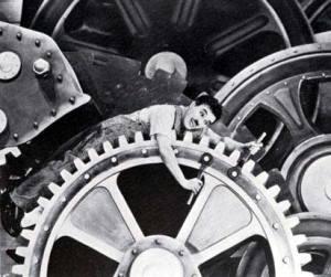 Modern Times with Charlie Chaplin
