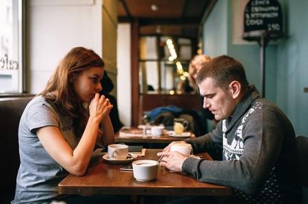 Olesya Gerasimenko (journalist) and Alexei Gaskarov. Photo by Tanya Hesso of Snob